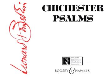 Chichester Psalms: Reduced Orchestration Score for Organ, Harp and Per (HL-48002536)