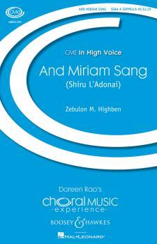 And Miriam Sang (Shiru L'Adonai): Shiru L'Adonai CME In High Voice (HL-48021195)