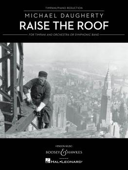 Raise The Roof: Timpani and Piano Reduction (HL-48022351)