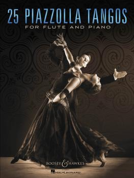 25 Piazzolla Tangos for Flute and Piano (HL-48023719)