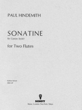 Canonic Sonatina, Op. 31, No. 3 (1923) (Performance Score) (HL-49003576)
