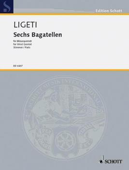 6 Bagatelles: Wind Quintet Set of Parts (HL-49006268)
