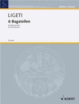 6 Bagatelles (Wind Quintet Score) (HL-49006270)