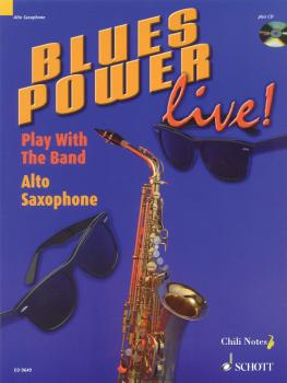 Blues Power Live! - Play with the Band (Alto Saxophone) (HL-49008482)