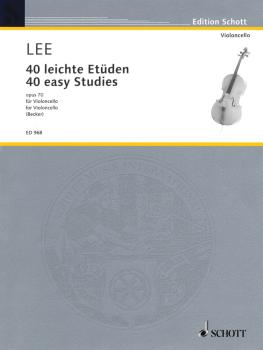 40 Easy Studies, Op. 70: in the First Position (HL-49008490)