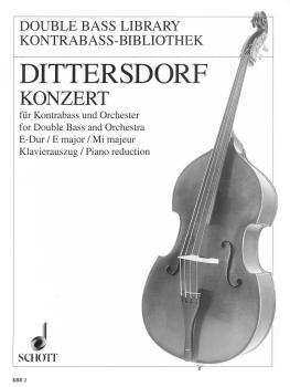 Double Bass Concerto in E Major, Krebs 172: Double Bass and Piano (HL-49011028)