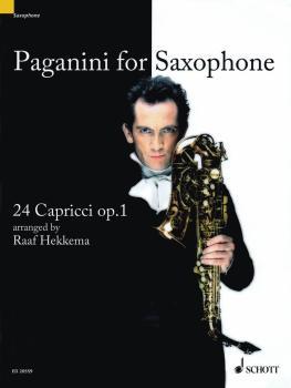 Paganini for Saxophone: 24 Capricci, Op. 1 Soprano or Alto Saxophone (HL-49017973)