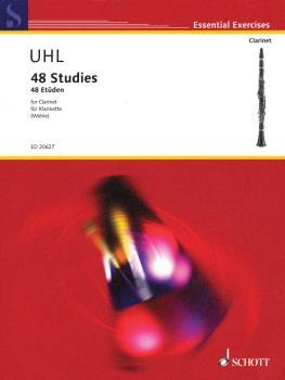 48 Studies for Clarinet: Essential Exercises Series (HL-49018159)