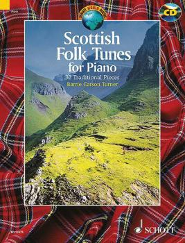 Scottish Folk Tunes for Piano: 32 Traditional Pieces With a CD of Perf (HL-49019873)