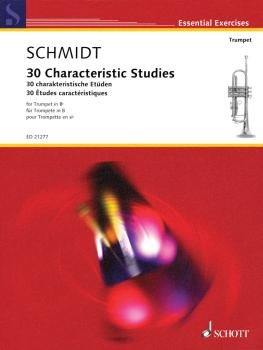 30 Characteristic Studies (for Trumpet in B-Flat) (HL-49044392)