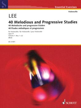 40 Melodious and Progressive Studies, Op. 31 Nos. 1-22 (for Cello) (HL-49044765)