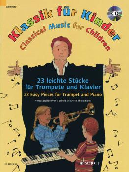 Classical Music for Children: 23 Easy Pieces for Trumpet and Piano (HL-49045059)