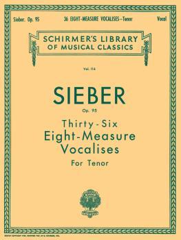 36 Eight-Measure Vocalises, Op. 95 (Tenor) (HL-50252820)