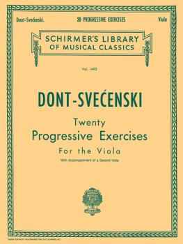 20 Progressive Exercises (Viola Method) (HL-50259630)