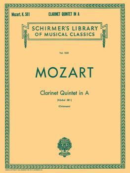 Clarinet Quintet in A, K.581 (Set of Parts) (HL-50262100)