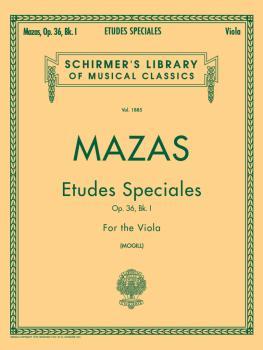 Etudes Speciales, Op. 36 - Book 1 (Viola Method) (HL-50262570)