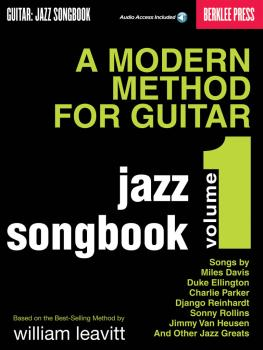 A Modern Method for Guitar - Jazz Songbook, Vol. 1 (HL-50449539)