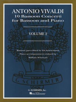 10 Bassoon Concerti, Vol. 2: Bassoon with Piano Accompaniment (HL-50481792)