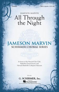 All Through the Night: Jameson Marvin Choral Series (HL-50489862)
