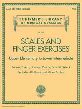 Scales and Finger Exercises - Upper Elementary to Lower Intermediate P (HL-50499878)