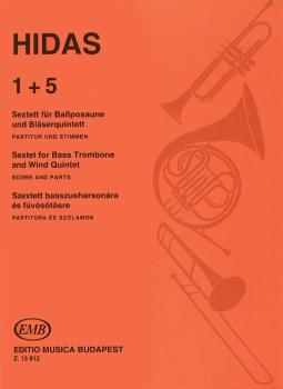 1 + 5 - Sextet for Bass Trombone & Wind Quintet (HL-50510256)