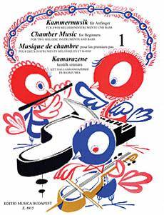Chamber Music for Beginners - Volume 1 (For two melodic instruments an (HL-50510277)