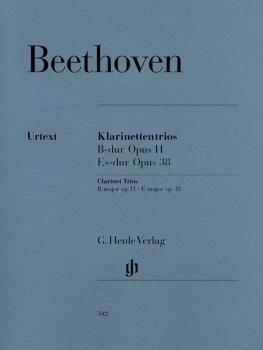 Clarinet Trios B Flat Major Op. 11 and E Flat Major Op. 38 (for Piano, (HL-51480342)
