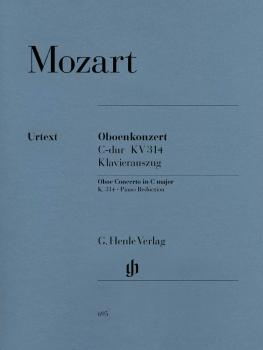 Concerto for Oboe and Orchestra C Major, K. 314 (for Oboe & Piano Redu (HL-51480695)