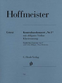 Concerto No. 1 for Double Bass and Orchestra with Violin Obbligato: Do (HL-51480721)