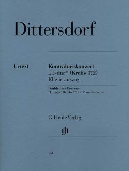 Double Bass Concerto E Major Krebs 172: Double Bass and Piano (HL-51480759)