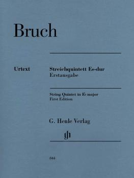String Quintet in E-flat Major: First Edition Score and Parts (HL-51480844)