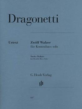 12 Waltzes for Double Bass Solo (Double Bass Solo) (HL-51480847)