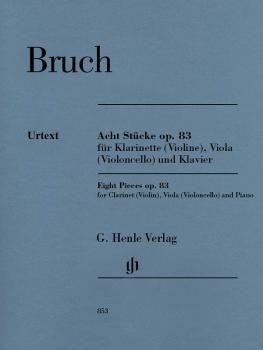 8 Pieces, Op. 83 (for Clarinet Violin, Viola Violoncello and Piano) (HL-51480853)