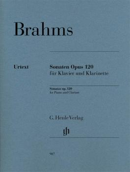 Clarinet Sonatas Op. 120: Clarinet and Piano Revised Edition (HL-51480987)