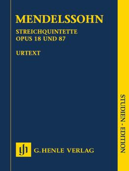 String Quintets, Op. 18 and 87 (HL-51489908)