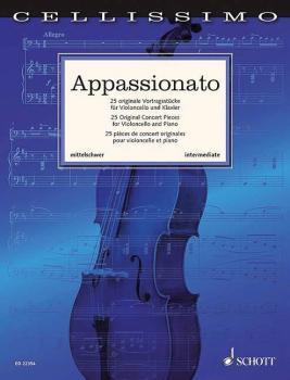 Appassionato: 25 Original Concert Pieces Cello and Piano (HL-49045518)