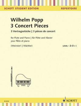 3 Concert Pieces: Schott Student Edition Repertoire Level 2-3 (HL-49045505)