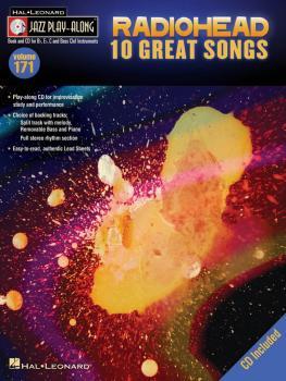 Radiohead: Jazz Play-Along Volume 171 (HL-00109305)