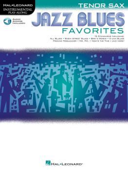 Jazz Blues Favorites (Tenor Sax) (HL-00154485)