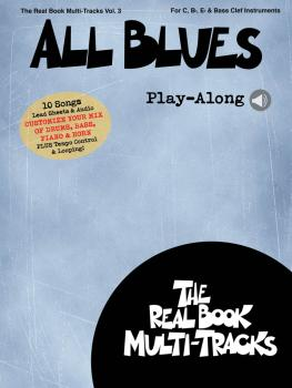 All Blues Play-Along: Real Book Multi-Tracks Volume 3 (HL-00196692)