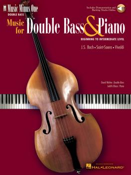 Music for Double Bass and Piano: Beginning to Intermediate Level Music (HL-00400581)