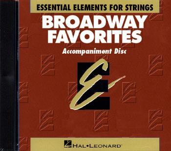 Essential Elements Broadway Favorites for Strings - CD (HL-00868046)