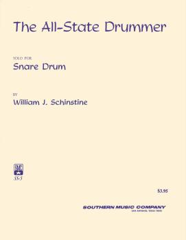 All State Drummer: Percussion Music/Snare Drum Unaccompanied (HL-03774131)