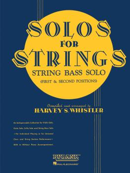 Solos For Strings - String Bass Solo (1st And 2nd Positions) (HL-04473230)