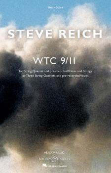 WTC 9/11: String Quartet and Pre-Recorded Voices and Strings or Three  (HL-48022945)