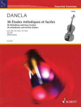 36 Melodious and Easy Studies Op. 84 (for Viola) (HL-49016121)