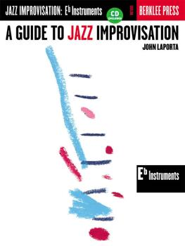 A Guide to Jazz Improvisation (E-Flat Edition) (HL-50449442)