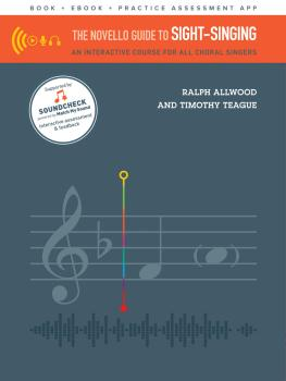 The Novello Guide to Sight-Singing: An Interactive Course for All Chor (HL-00254428)