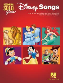 Disney Songs - Beginning Solo Guitar: 15 Songs Arranged for Beginning  (HL-00237494)