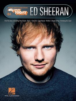 Ed Sheeran: E-Z Play® Today Volume 84 (HL-00265416)